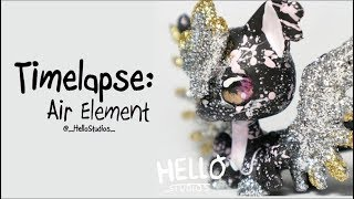 LPS Timelapse - Air Element - Handpainted Custom by HelloStudios