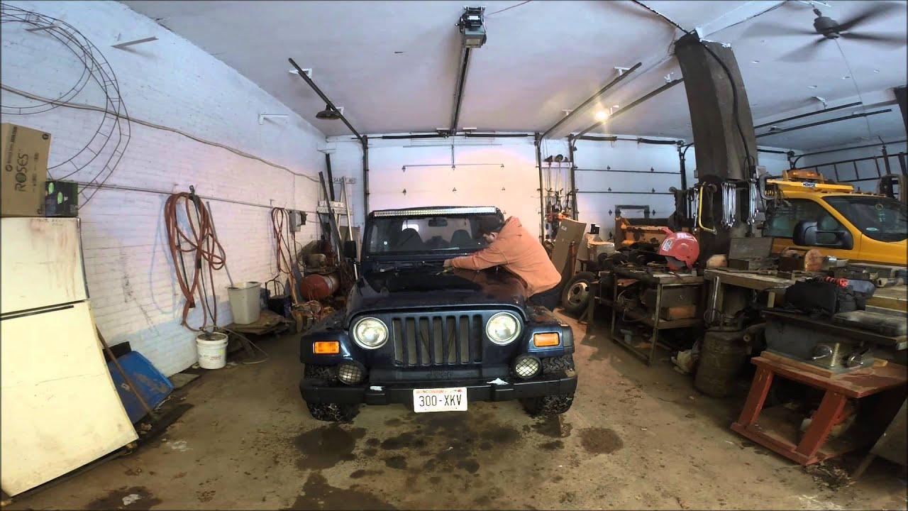 jeep wrangler windshield wiper motor repair [ 1280 x 720 Pixel ]