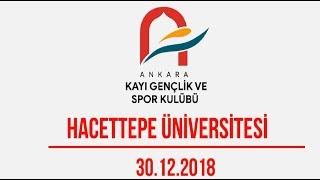 Ankara Kayı Gençlik ve Spor Kulübü - Hacettepe Üniversitesi Basketbol Maçı