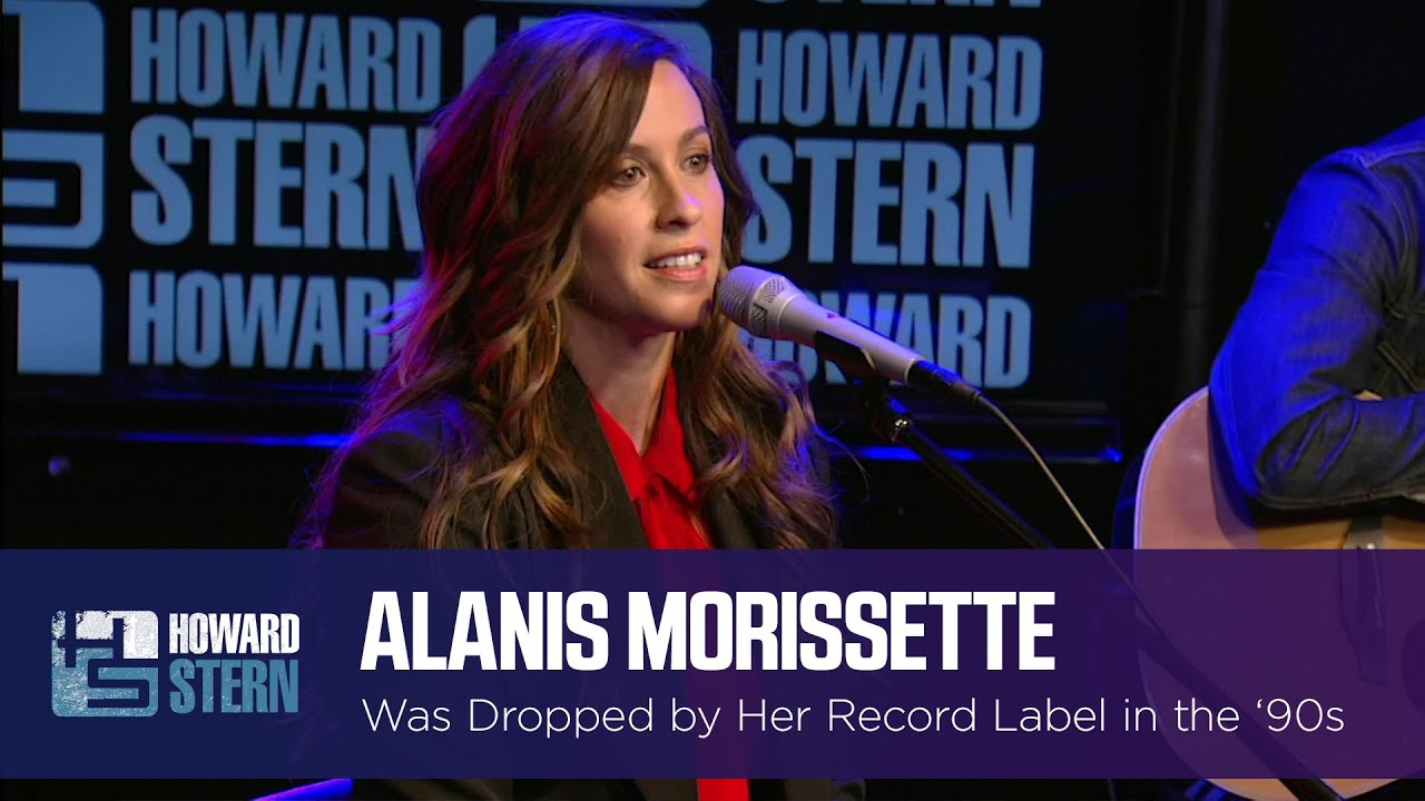 Alanis Morissette Was Dropped by Her Record Label in the '90s
