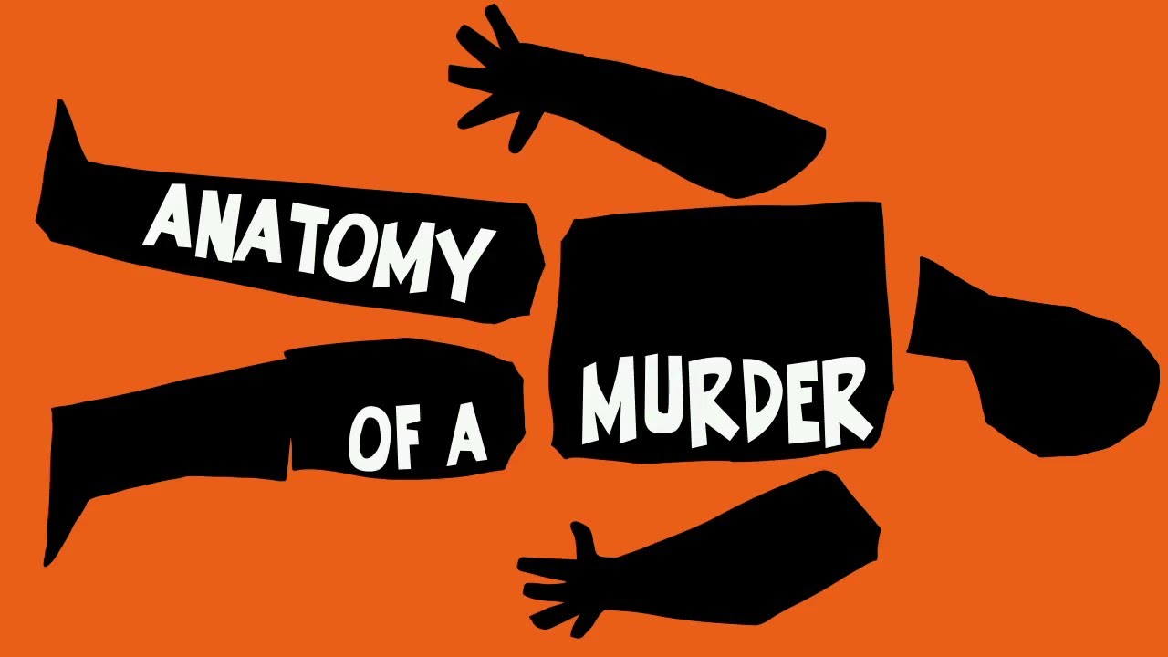 Anatomy Of A Murder 1959 Motion Graphic Revival Youtube