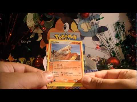 Christmas 2011, With PokeCollection! Part 3: EX Ruby & Sapphire Booster Box  Part 1