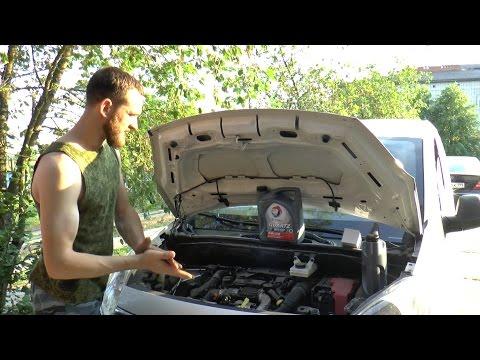 Citroen Berlingo В9 дизель замена масла в моторе Отзыв автосервис АвтоРусь Разборки