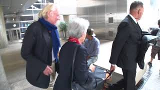 Donald Sutherland one of the best old time actors at LAX