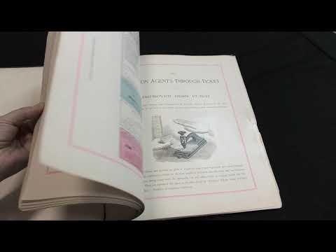 Browse Contents - 1887 American Duplex Ticket Co. Railroad Catalog