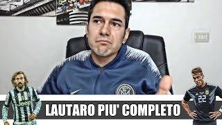 """PIRLO: """"LAUTARO fa giocare meglio l'Inter; JUVE più forte del BARÇA"""" * HAI RAGIONE *"""