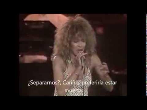 "TINA TURNER ""The best"" (LIVE, 90) subtitulada al español"