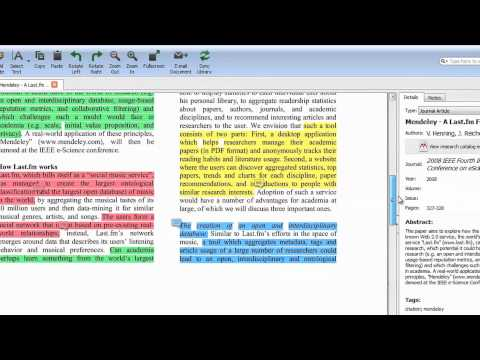Create and Use Groups (Mendeley Minute)