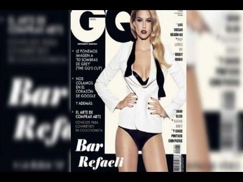 Bar Refaeli, habla alto y claro para GQ