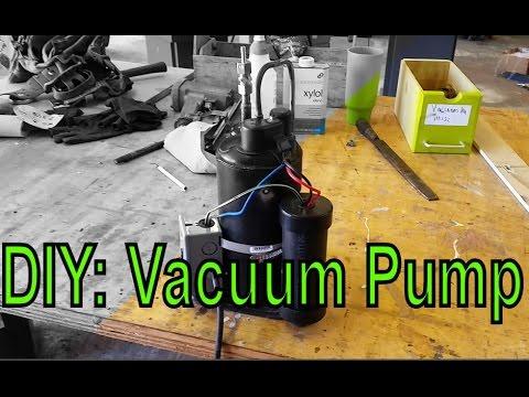 Diy Vacuum Pump