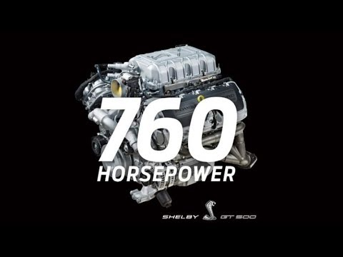 IT'S OFFICIAL - 2020 SHELBY GT500 HORSEPOWER UNVEILED!