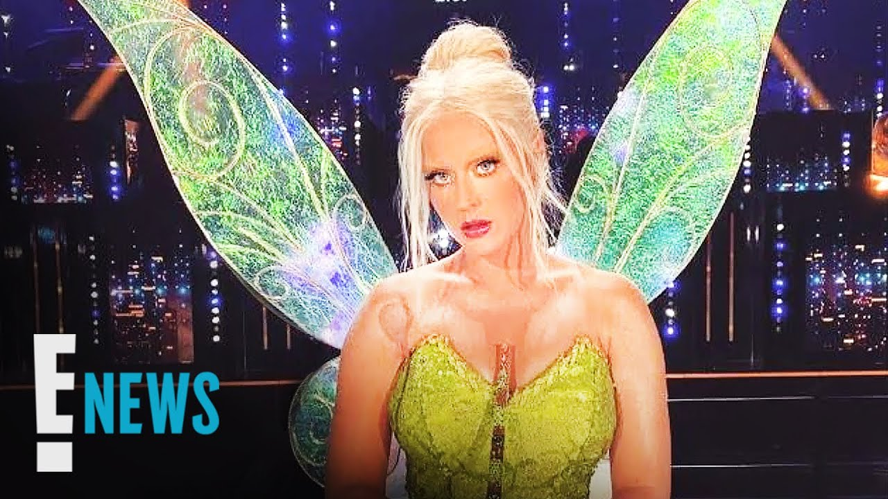 Katy Perry's Magical Transformation Into Tinkerbell News