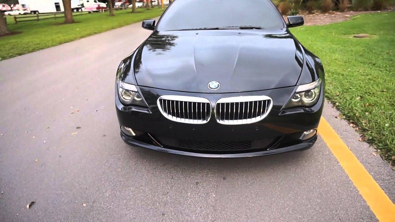 2010 bmw 650i sport black coupe for sale clean florida car youtube. Black Bedroom Furniture Sets. Home Design Ideas