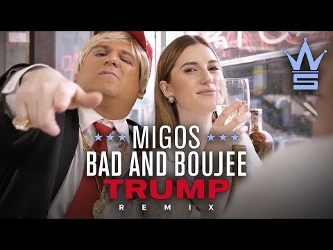 "Migos ""Bad and Boujee"" Trump Remix (Donald Trump Rap Parody)"