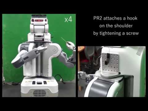 Japanese Researchers Teaching Robots to Repair Themselves