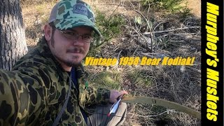 2016 Recurve Hunt w/Vintage 1958 Kodiak and In Field Reviews