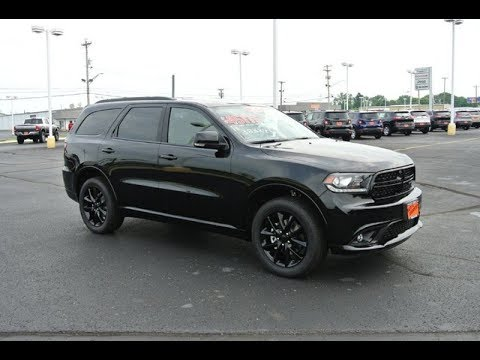 2017 dodge durango gt blacktop all wheel drive for sale dayton troy piqua sidney ohio 27997t. Black Bedroom Furniture Sets. Home Design Ideas