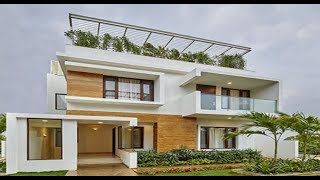 Modern Double Floor House 1400 Sft for 14 Lakh | Elevation | Interior | Design