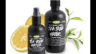 Lush Tea Tree Water Review Thumbnail
