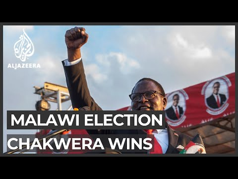 Malawi presidential election: Lazarus Chakwera declared winner