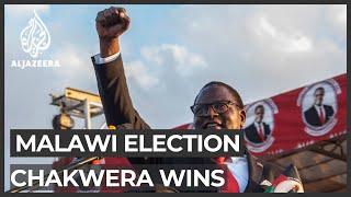 Malawi presidential election: Lazarus Chakwera declared winner