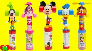 Mickey Mouse and Friends Giggle Heads with Minnie Mouse Fan