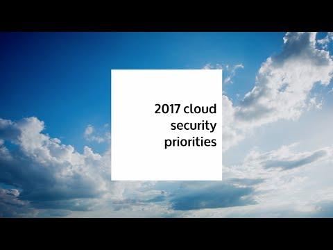 2017 Cloud Security Priorities