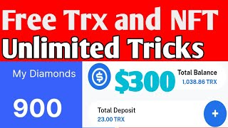 Free Trx and Free Diamond |Coinmarket Cab |Trust wallet $300 for all user |