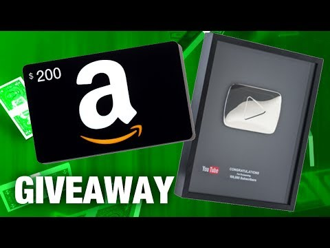 $200 GIVEAWAY + SILVER PLAY BUTTON Unboxing - Thanks for 100K Subscribers!