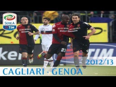 Cagliari - Genoa - Serie A 2012/13 - ENG