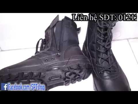 Giày swat cao cổ nam, giày boot cao cổ ✅ #SPTshop 230