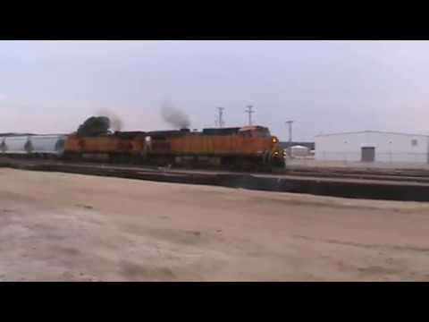 BNSF General Freight Tulsa, OK 8/25/17 vid 2 of 12