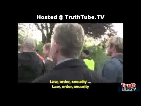 Gouda, Holland- Native Dutch Taking A Stand Against Muslim Thugs. TruthTube.Tv