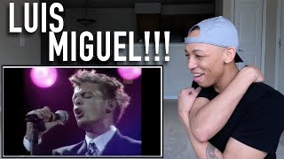 Singer Reaction to Luis Miguel - Mejores Vocales