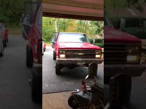 1984 Chevrolet K30 after rebuild
