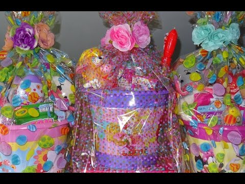 EASTER Baskets 2016 for the little girls!!! Part 1!