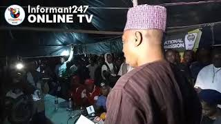 Saraki, Oloriegbe: PDP Agent refuses to attest to the result, as APC, LP, APP sign