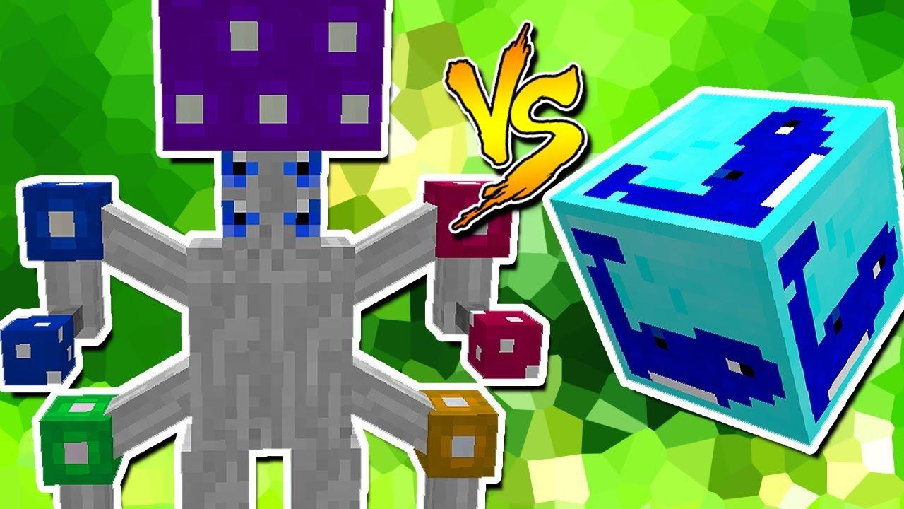 Rei Cogumelos Vs Lucky Block Baleia Minecraft Lucky Block