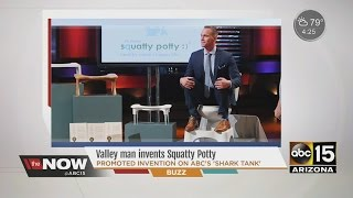 Valley man invents 'Squatty Potty'