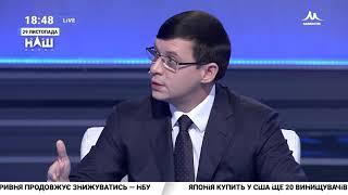 Мураев: Если это был приказ Порошенко, давайте раз и навсегда накажем президента. НАШ