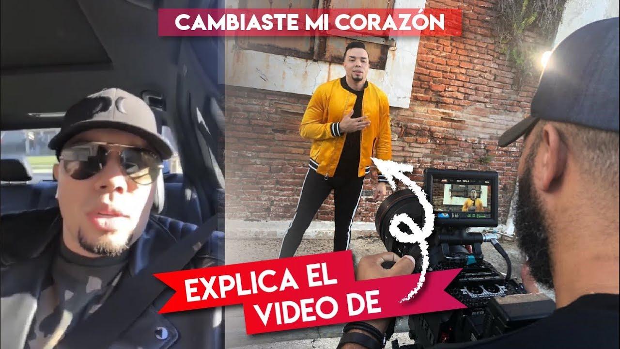 """Alex Zurdo   Explica sobre su videoclip  """"Cambiaste Mi Corazón"""""""