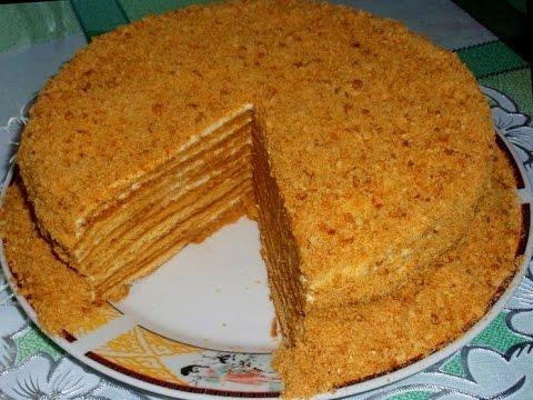 Торт медовый - приготовление