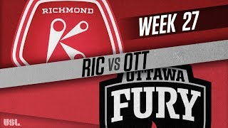 Richmond Kickers vs Ottawa Fury FC: September 15, 2018
