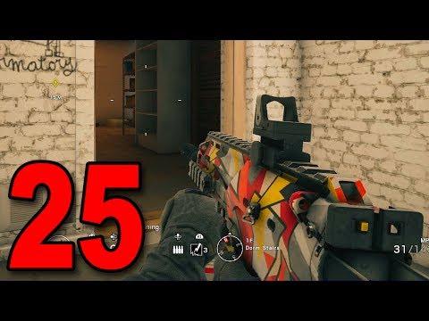 Rainbow Six Siege - Part 25 - MP7 IS BEAST! (Unlocking Bandit)