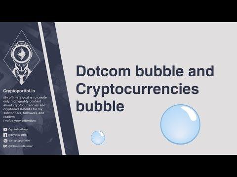 Dotcom bubble & Cryptocurrencies bubble