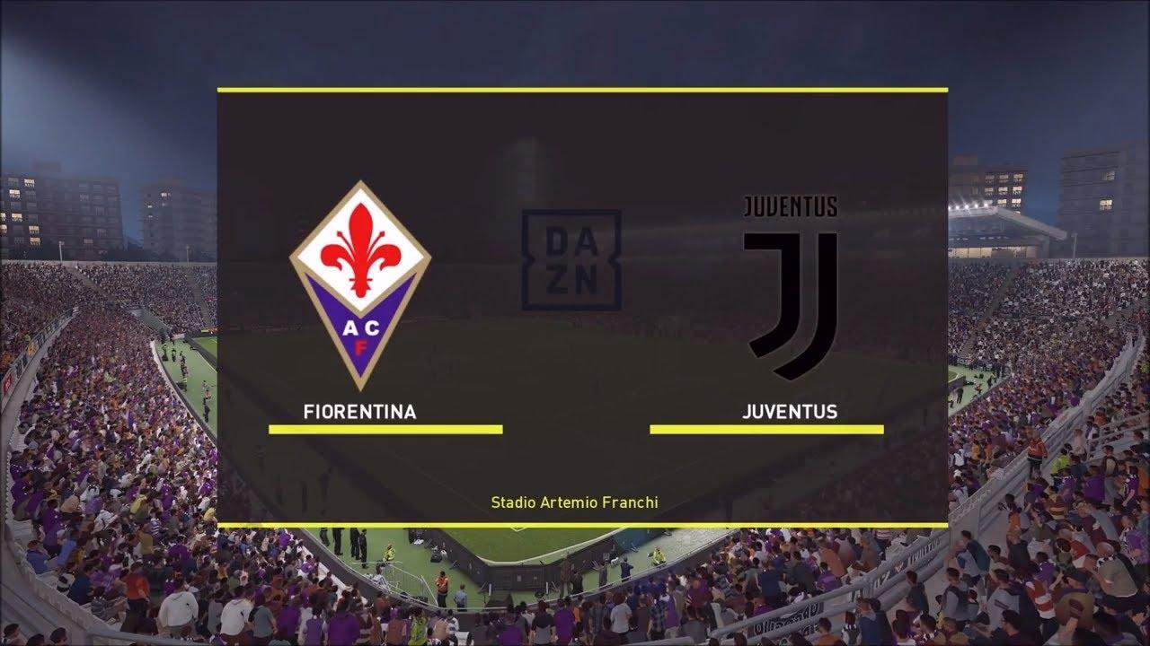 Fiorentina - Juventus 3°giornata Serie A pronostico Pes 2019