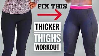 MUST DO THICKER THÏGHS INTENSE LEG WORKOUT Lower Body Workout