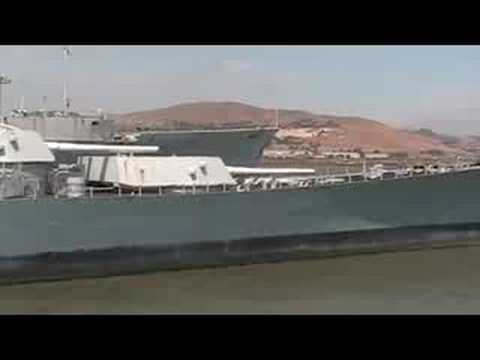 USS Iowa BB 61 at Suisun Bay 8/16/2008