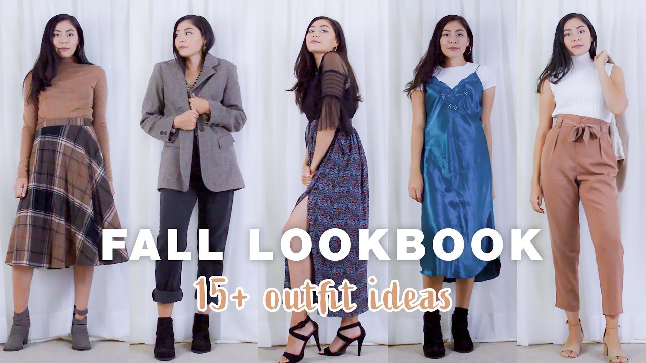 [VIDEO] - Fall Lookbook | 15+ Cute Outfits for the Fall 8