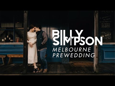 Billy Simpson's VLOG - Melbourne Pre-wedding Shoot